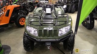 9. 2015 Arctic Cat 700 Diesel Recreational ATV - Walkaround - 2015 Toronto ATV Show