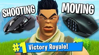 USING TWO MOUSES TO WIN IN FORTNITE! (NO KEYBOARD)
