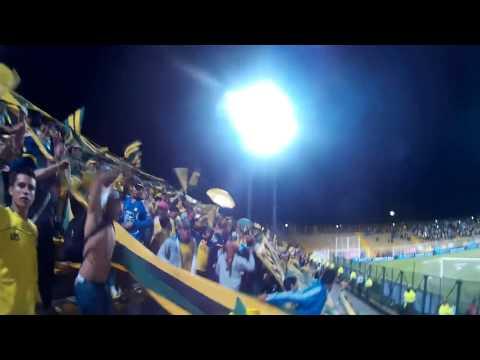 Salida del equipo, B/manga Vs. cucuta, Cuadragulares,17-Ene-2015, FORTALEZA LEOPARDA SUR 2015 - Fortaleza Leoparda Sur - Atlético Bucaramanga