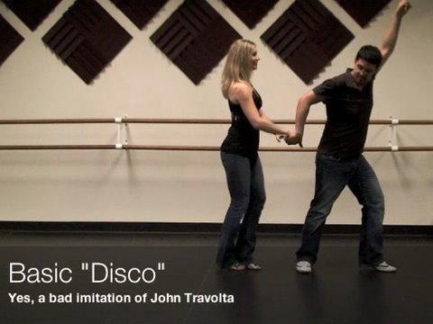 Отличный урок танца сальсы - Spins and Disco