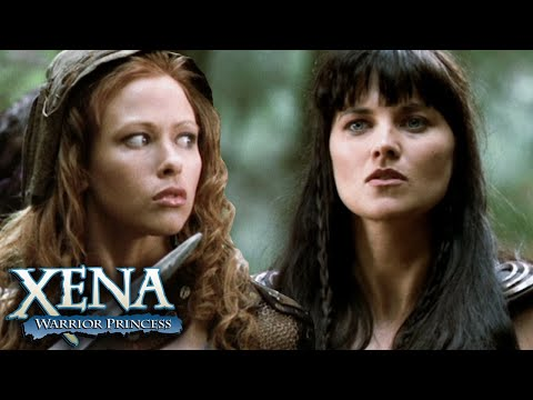 Xena Fights Side by Side with the Amazons | Xena: Warrior Princess