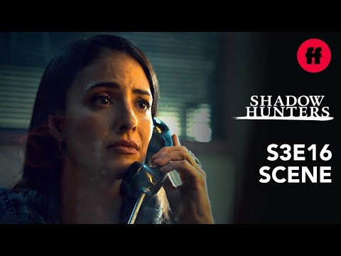 Shadowhunters Season 3, Episode 16   Maryse Visits Luke in Prison   Freeform
