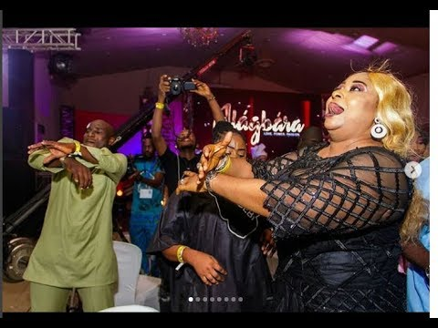 Funsho Adeolu, Ronke Oshodi, Femi Adebayo kill the show with their dance steps at Alagbara Premiere