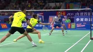 Video T.Ahmad/L.Natsir v Xu C./Ma J.|XD-F| Wang Lao Ji BWF World Champ. 2013 MP3, 3GP, MP4, WEBM, AVI, FLV Maret 2019