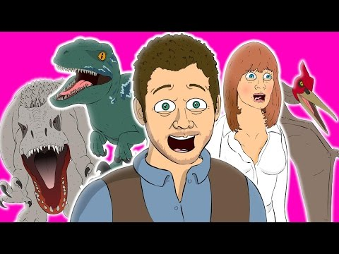 Video ♪ JURASSIC WORLD THE MUSICAL - Animated Parody Song download in MP3, 3GP, MP4, WEBM, AVI, FLV January 2017