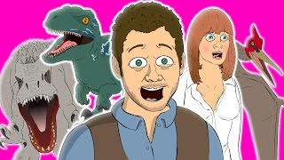 ♪ JURASSIC WORLD THE MUSICAL  Animated Parody Song