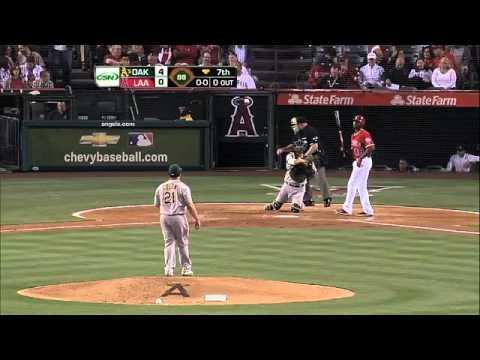 2012/04/18 Colon throws 38 straight strikes