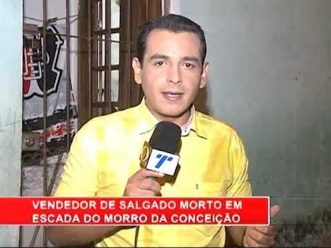 [RONDA GERAL] Vendedor é morto em escadaria do Morro da Conceição