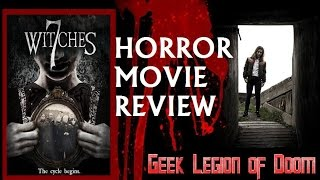7 WITCHES ( 2017 Persephone Apostolou ) aka VOWS Witchcraft Horror Movie Review