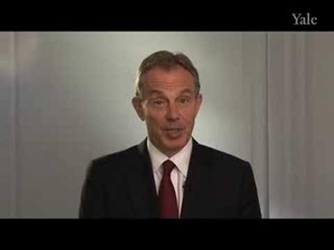 Yale  's Partnerschaft mit der Tony Blair Faith Foundation