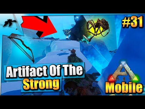 Ark Mobile S1:E31| How To Get The Artifact Of The Strong Easy!/Ascendant Loot| iOS/Android Solo