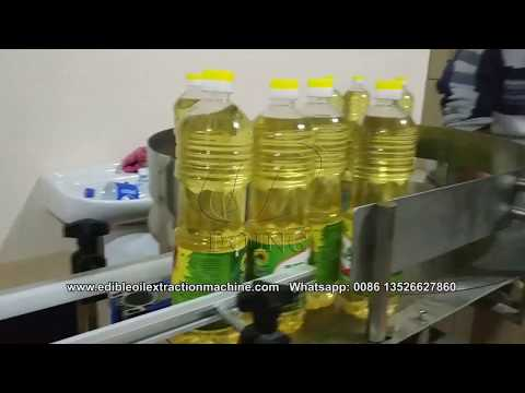 Cooking Edible Vegetable Oil Filling Machine, Sunflower Oil Filling Machine For Sale