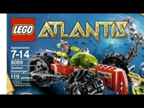 Video YouTube video advertisement of the Atlantis Seabed Scavenger