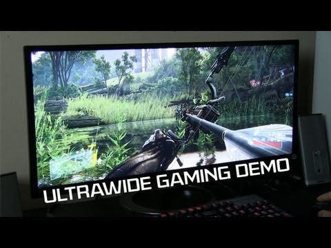 PC Gaming on a 21:9 LG Monitor with GTX Titans in 2-Way SLI