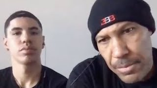 Lavar & LaMelo Ball REACT To Rumors Of Lonzo Ball Being Traded! by Obsev Sports