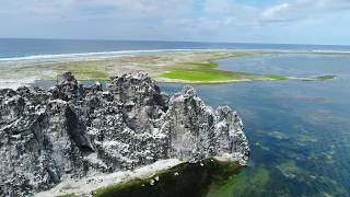 Aerial video of Clipperton Island, May 2017, images by permit HC / 1485 / CAB. Ile de la Passion, a spectacular coral atoll in the ...