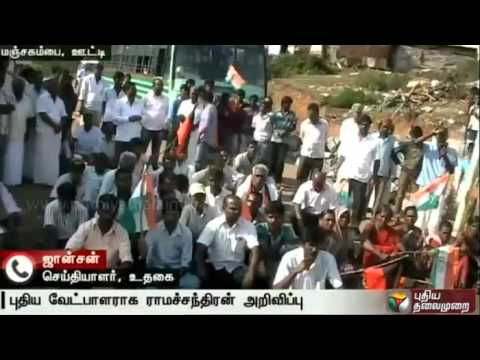 Live-report-Congress-workers-protest-against-change-of-election-candidate-in-Ooty