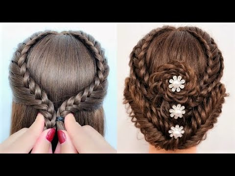 Back to school hairstyles for long hair - Beautiful hairstyles compilation 2019