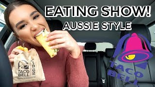 Video TACO BELL DRIVE THRU MUKBANG | EAT & CHAT WITH ME MP3, 3GP, MP4, WEBM, AVI, FLV Agustus 2018