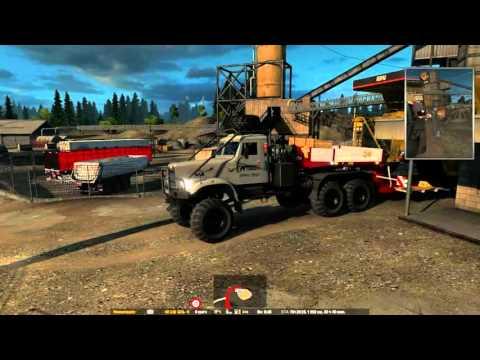 Kraz 255 RosTransAvto Skin + Cargo Fix 1.22