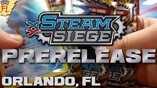 Pokemon TCG Steam Siege Prerelease - Opening 6 FAntastic Packs of Steam Siege! by Flammable Lizard