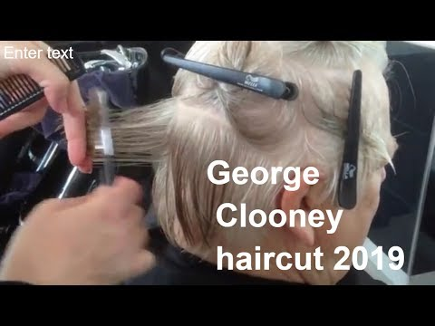 Mens hairstyles - George Clooney haircut 2019, Mens haircuts 2019, MEN HAIRSTYLE 2019