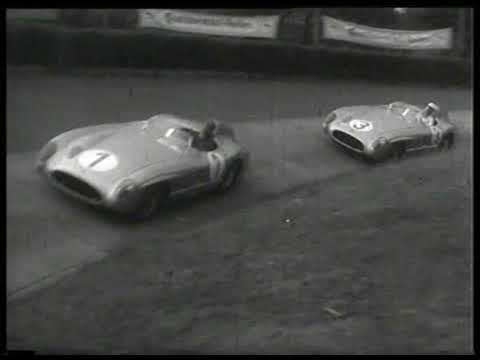 29/05/1955 nurburgring eifel grand prix XVII  ADAC-Eifel-Rennen. Fangio wins on Mercedes