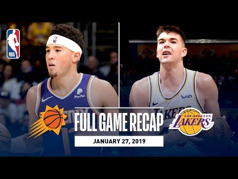 Video: Full Game Recap: Suns vs Lakers | Ivica Zubac Leads Los Angeles With An Impressive Double-Double