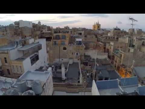 Il-Belt Valletta Drone Video