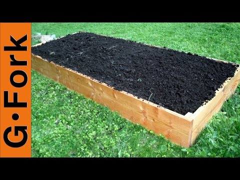 How to Build Raised Garden Beds GardenFork.TV