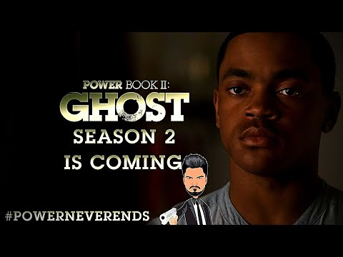 Power Book II: Ghost 'SEASON 2 IS COMING' Season 2 & Rest Of The Series Discussed | Starz