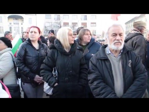 """""""Гласове TV"""": Протест пред парламента, 28 Януари 2016 (видео)"""