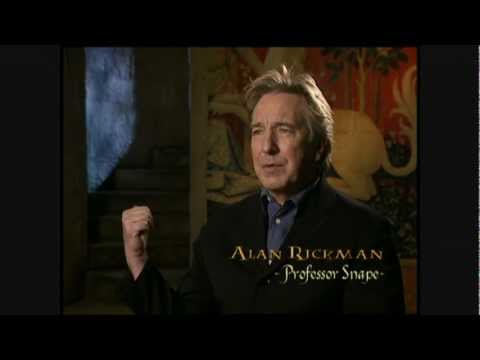 Harry Potter and the Chamber of Secrets - Alan Rickman short interview
