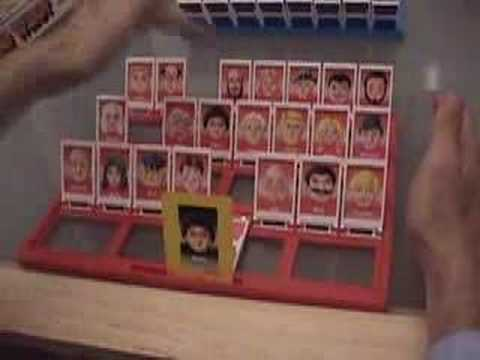 Winning Guess Who in one move