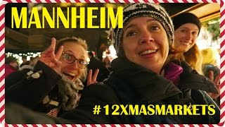 Mannheim Germany  City new picture : Day 1 - Christmas Markets - Mannheim (Germany)