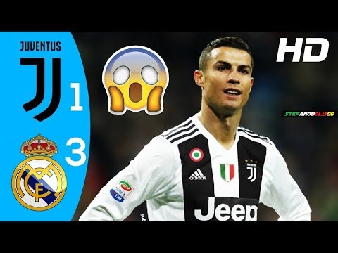 Juventus Vs Real Madrid 1-3 ⚽ Highlights & Goals ⚽ ICC - 2018\2019 ⚽ HD #Juventus #Ronaldo
