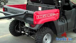 7. Honda Big Red Seat and Roll Cage Kit