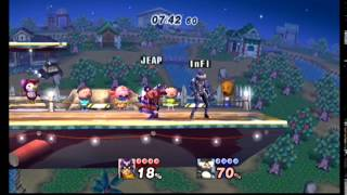 PM Wifi SR Professor Flash (Marth,Falcon) vs SR InfamousLuffy (Roy,Sheik) Can i please get my Roy critiqued?