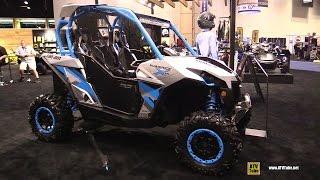 6. 2016 Can Am Maverick X DS 1000R Turbo Side by Side ATV - Walkaround - 2015 AIMEXPO Orlando