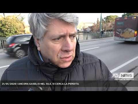21/01/2020 | ANCORA GASOLIO NEL SILE, SI CERCA LA PERDITA