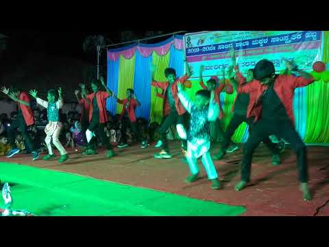 GHPGS Lingadahalli students(1)