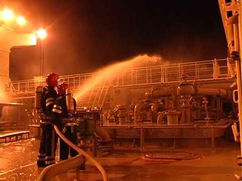 Ликвидация утечки аммиака в порту Южный - Центр транспортных стратегий