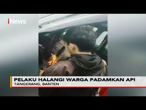Tak Terima Motor Tersenggol, Pengendara Motor Nekat Bakar Angkot di Tangerang - Police Line 28/10
