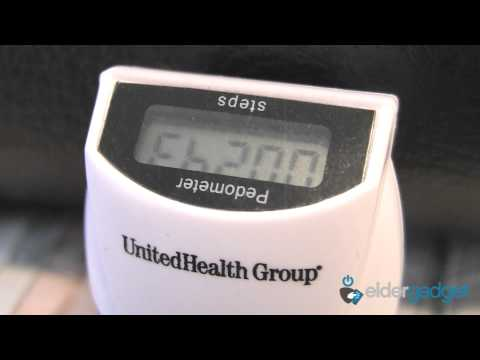 CES 2012 Video: United Health Group - Pedometer and OptumizeMe App