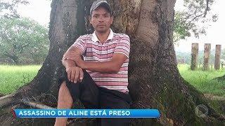 Preso em Alumínio homem suspeito de matar Aline
