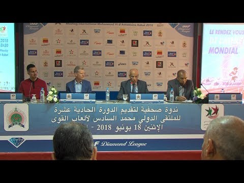 العرب اليوم - شاهد| حضور وازن لأبطال أولمبيين وعالميين في ملتقى ألعاب القوى