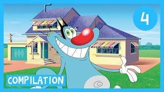 Video Oggy and the Cockroaches - Oggy's House Compilation 1H in HD MP3, 3GP, MP4, WEBM, AVI, FLV Juli 2018