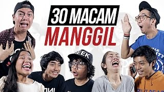 Video 30 MACAM MANGGIL feat. EDHOZELL, BENAKRIBO, DINADINODAY, DEVINAUREEL, AULION MP3, 3GP, MP4, WEBM, AVI, FLV Desember 2018