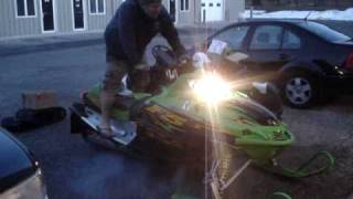 5. 2004 Arctic Cat Firecat F5 500 Snowmobile