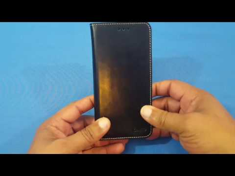 iPhone 7 Plus Case,  Premium PU Leather Wallet Cover with Card Slots!